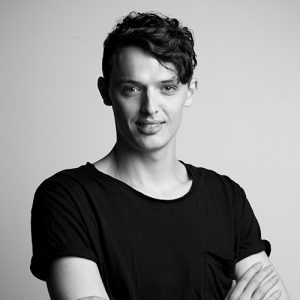 Sam Young-Wright of Sydney Dance Company.