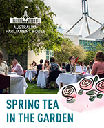 Spring Tea In The Garden