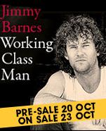 Jimmy Barnes Working Class Man Tour 2018