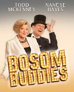 Nancye Hayes & Todd McKenney in Bosom Buddies