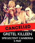 Gretel Killeen & The Gretskys in The Love Love Klub, Saturday 5 May 2018