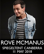 Rove McManus: That's Me Talking