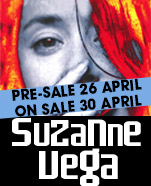 Suzanne Vega – The Anniversary Tour, Wednesday 1 August 2018