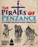 Pirates of Penzance Canberra Grammar