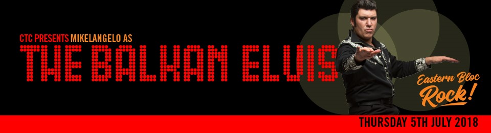 Balkan Elvis Eastern Bloc Rock