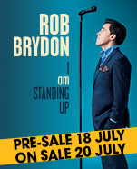 Rob Brydon, Wednesday 27 March 2019