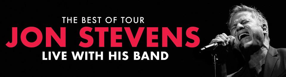 Jon Stevens – The Best Of Tour