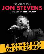 Jon Stevens – Greatest Hits Tour – Thursday 25 October