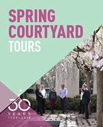 Spring Courtyard Tours