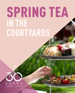 Spring Tea in the Courtyards
