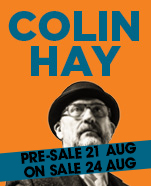 Colin Hay – Friday 26 April 2019