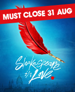 The MTC Production of Shakespeare In Love