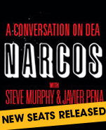 A Conversation On Narcos With Steve Murphy & Javier Peña