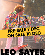 Leo Sayer – Just a Boy at 70, Friday 22 February 2019