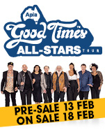 Apia Good Times Tour, Sunday 16 June 2019