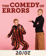 Bell Shakespeare's The Comedy of Errors, 2-10 October 2020