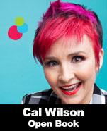 Cal Wilson – Open Book