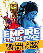 The Empire Strips Back, Friday 31 January 2020