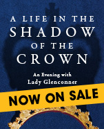An Evening with Lady Glenconner, Friday 29 May 2020