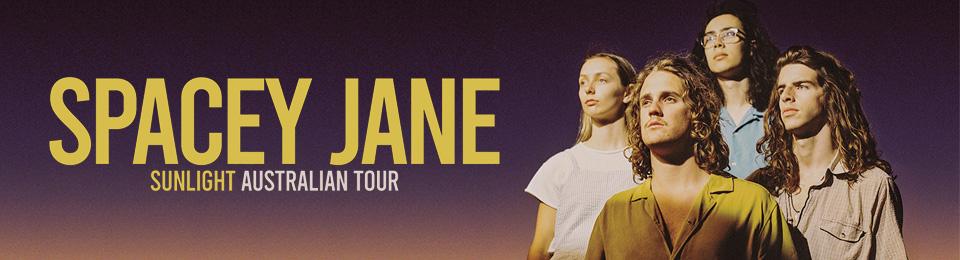 Spacey Jane: Sunlight Australian Tour