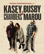 Behind the Barricades with Kasey Chambers & Busby Marou